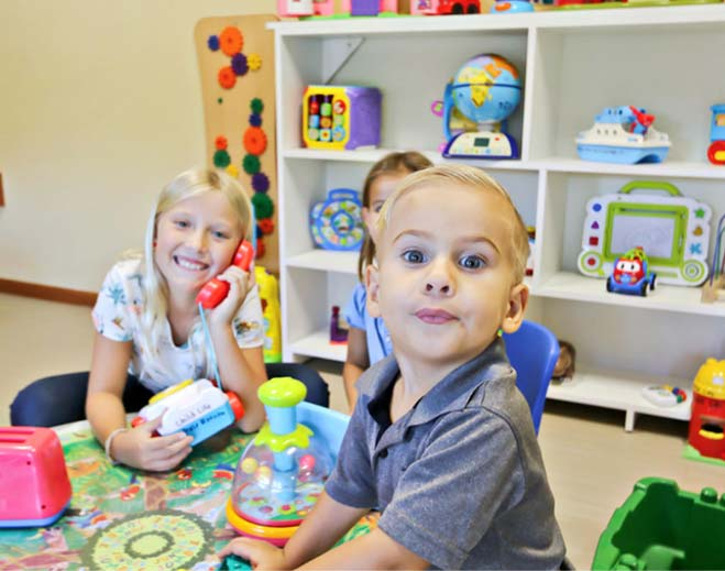 Play Area: You can even pick a toy from the playroom to bring with you to the pre-op area