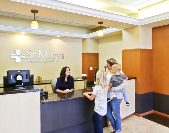 Registration: You and your family will check in at the front desk